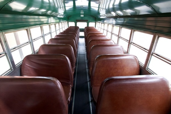 empty school bus